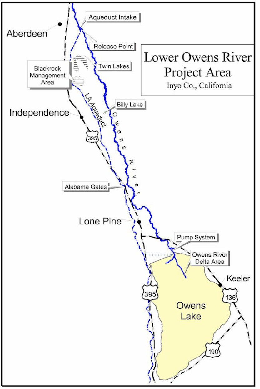 Lower Owens River Project Inyo County Water Department