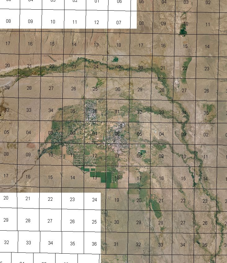 Ritch Maps Inyo County Water Department - Nd land ownership map