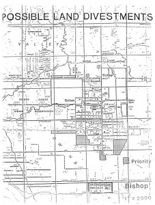 Bishop Area Map