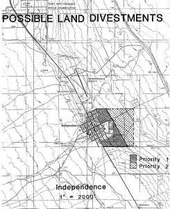 Independence Area Map