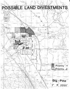 Big Pine Area Map
